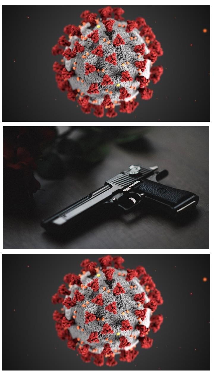 Complacency kills:  Guns and Covid